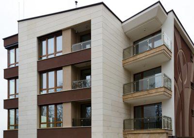 "Ventilated facade with ""Vratsa"" Limestone"